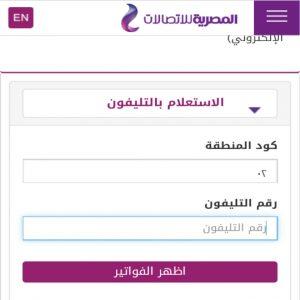 وخطوات الاستعلام عن فاتورة التليفون الأرضي 2021 في مصر..